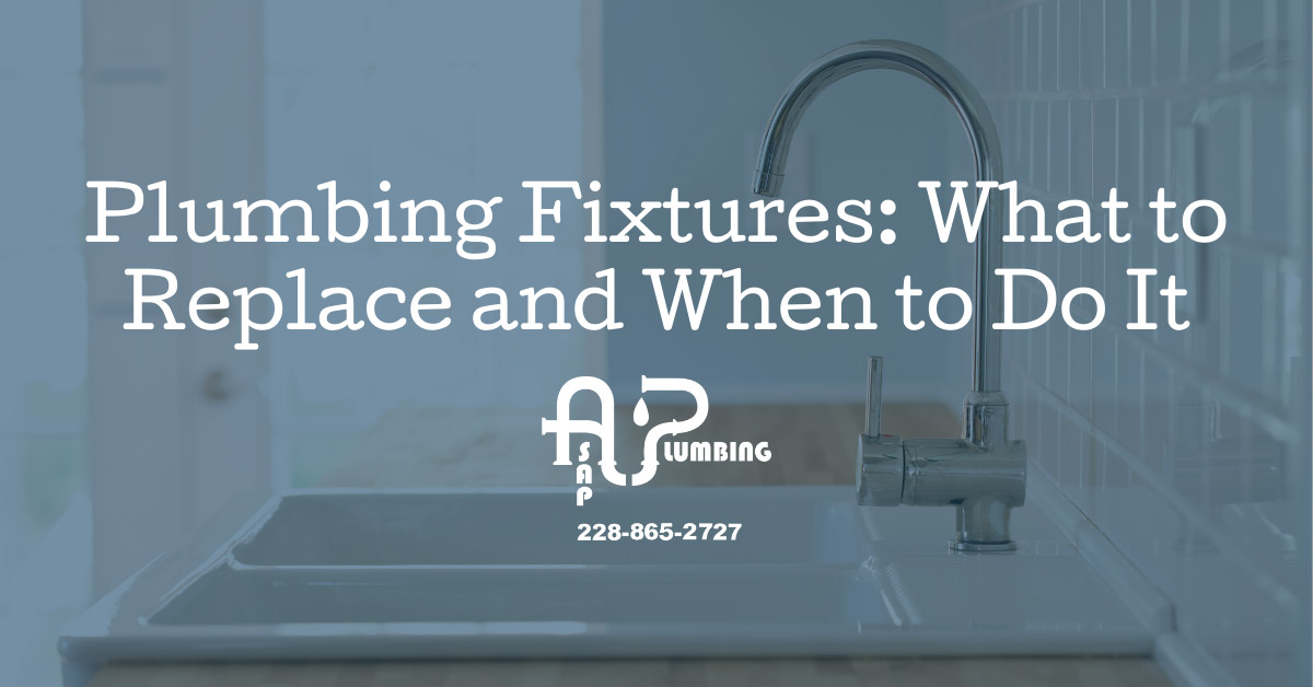 Plumbing Fixtures: What to Replace and When to Do It