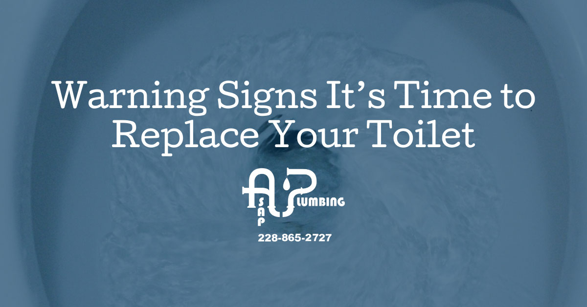Warning Signs It's Time to Replace Your Toilet