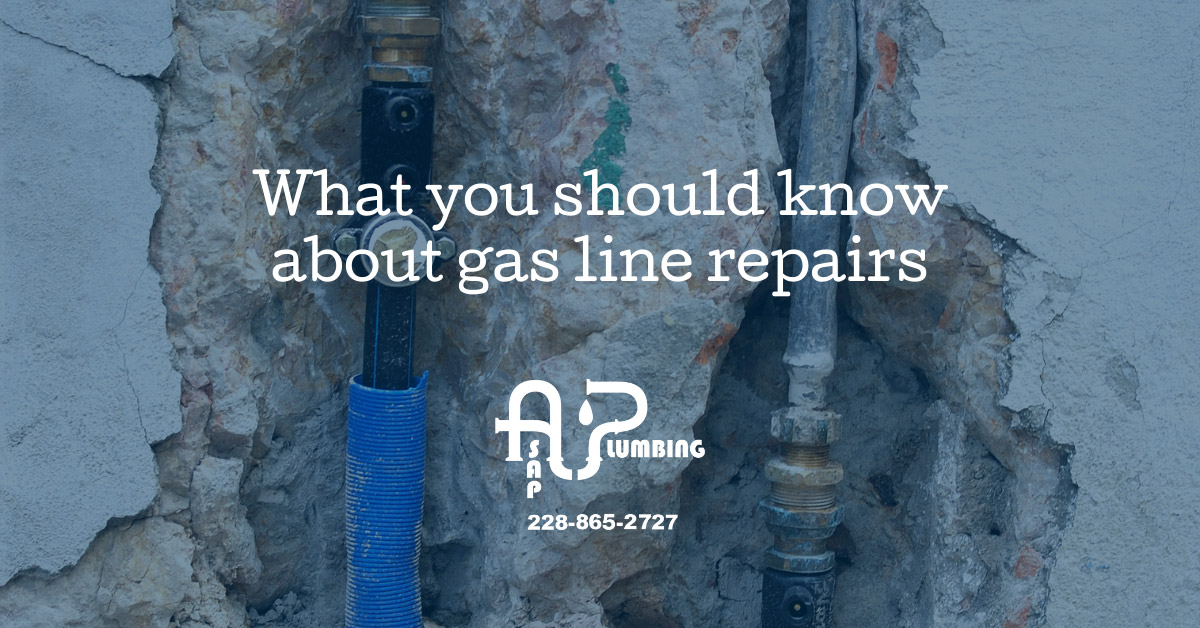 What you should know about gas line repairs