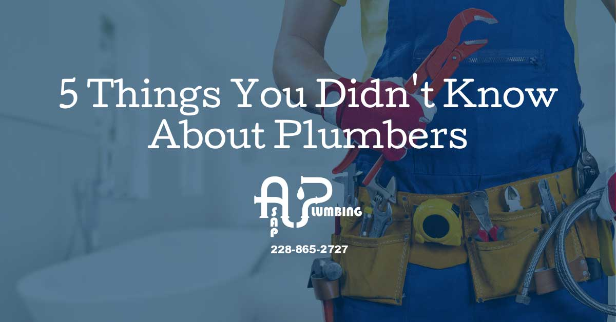 5 Things You Didn't Know about Plumbers