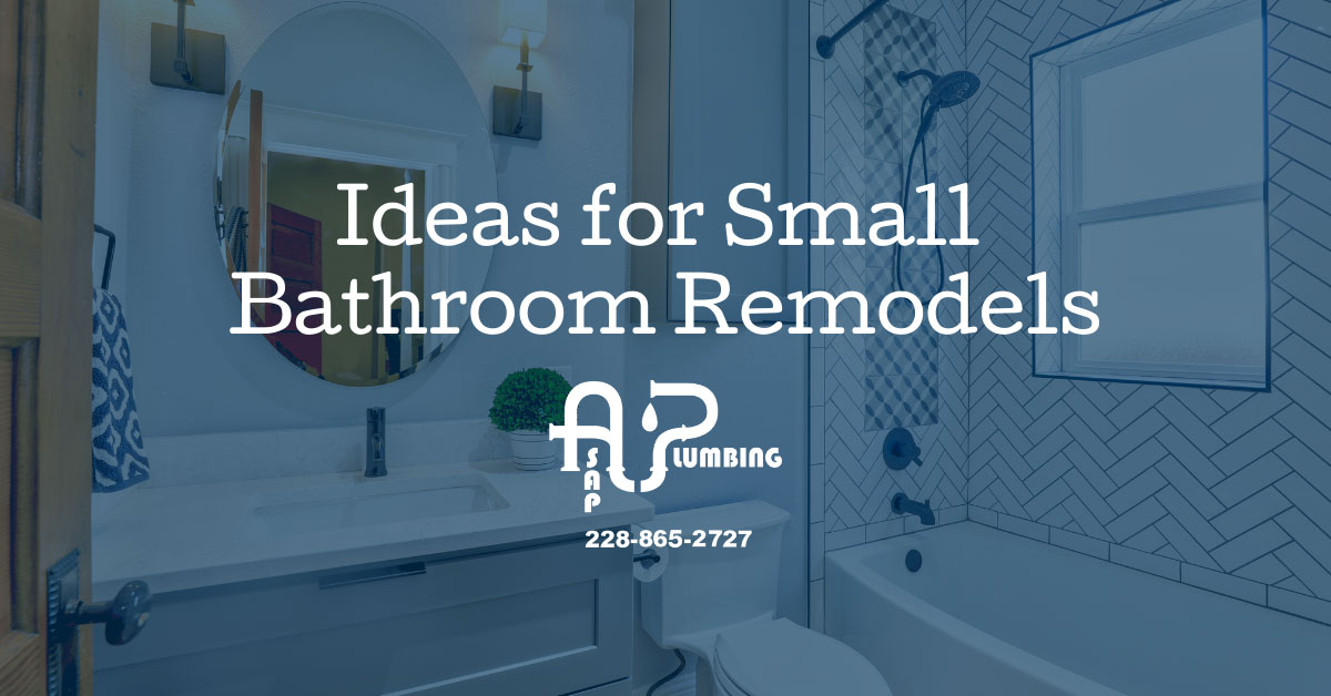 Ideas for Small Bathroom Remodels